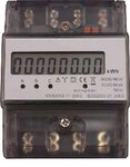 YouLess 3 fase DIN rail kWh meter