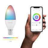 Hombli Slimme RGBW-lamp (E14 4.5W wifi)_