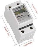 Slimme Wifi DIN rail Energiemeter_