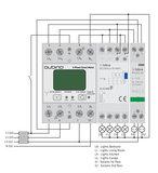 Qubino 3-Fase Slimme Meter ZMNHXD1