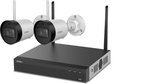 Imou Wireless Kit - Bewakingssysteem incl. 2 Camera's (1080p)