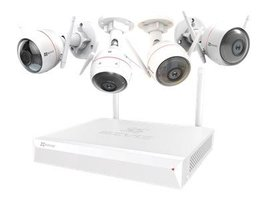 Ezviz ezWireless bewakingscamera set - 4 Camera's (1080p) + videorecorder