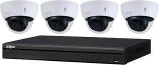 Dahua Professionele 4K Cameraset: 4 camera's + recorder (2TB)