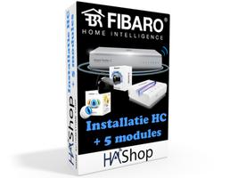 Installatie Fibaro Home Center + 5 modules