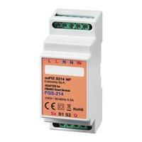 Adapter S214 NP voor DIN TH35-rail tbv Fibaro Smart Module FGS214