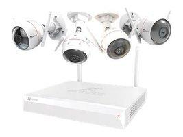 Ezviz ezWireless Kit - Bewakingssysteem incl. 4 Camera's (1080p)
