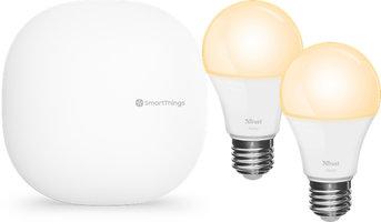 SmartThings Verlichtingsset: Hub + 2 lampen