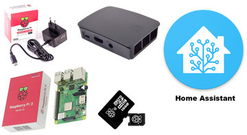 Raspberry Pi 4 4GB Bundle Kit incl. Home Assistant geïnstalleerd