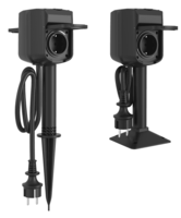 WOOX Slim 2-voudig wifi-buitenstopcontact