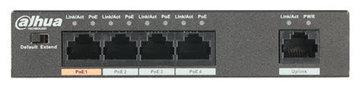 Dahua PFS3005-4ET-60 5 poort switch 10/100Mbps 4x PoE 60W
