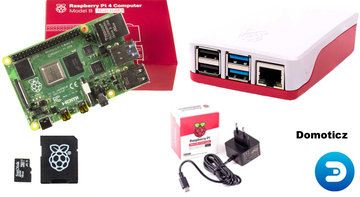 Raspberry Pi 4 2GB Bundle Kit incl. Domoticz geïnstalleerd