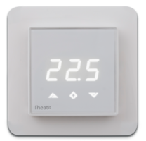 Heatit Z-TRM2fx Z-Wave thermostaat (wit)