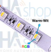 High end RGBWW Led strip 300 x 5050 Led's