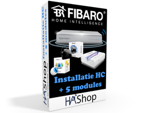 Installatie Fibaro Home Center + 5 modules