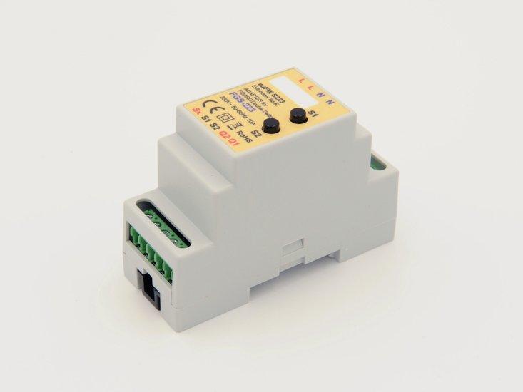 Adapter S223 voor DIN TH35-rail tbv Fibaro Dubbele Schakelaar 2 FGS223