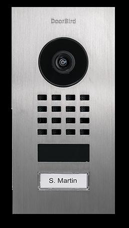 DoorBird D1101V IP Video Doorstation Inbouw
