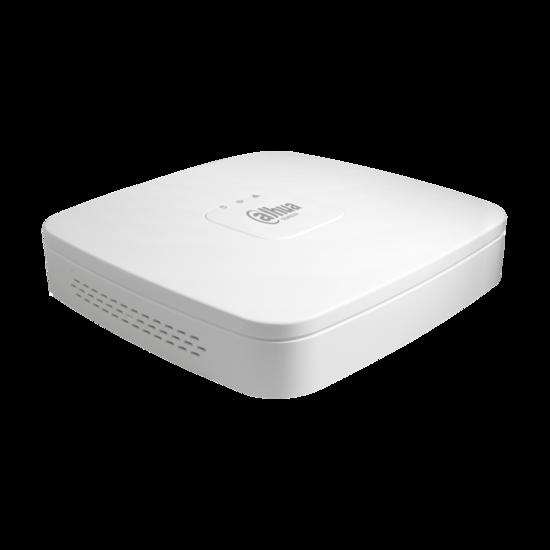 Dahua NVR4104-PoE-4KS2, zonder harddisk, voor 4 IP (4K) camera's