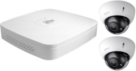 Dahua Camera Set: 2 dome camera's + recorder