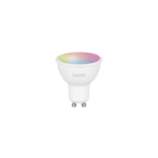 Hombli Slimme RGBW-spot (GU10 5W wifi)