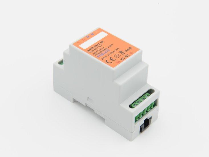Adapter S212 NP voor DIN TH35-rail tbv Fibaro Enkel relais FGS212