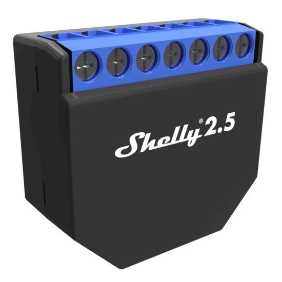 Shelly 2.5 switch wifi