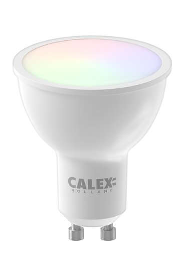Calex Smart LED Reflector lamp GU10 wifi RGB Dimbaar