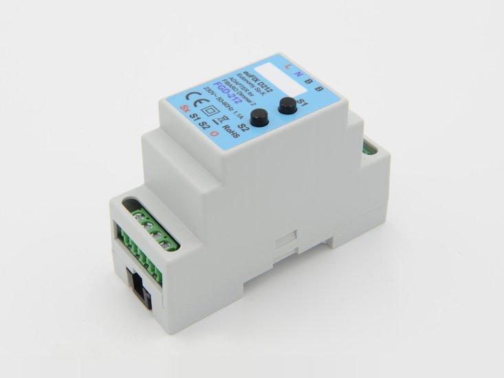 Adapter D212 voor DIN TH35-rail tbv Fibaro Dimmer 2