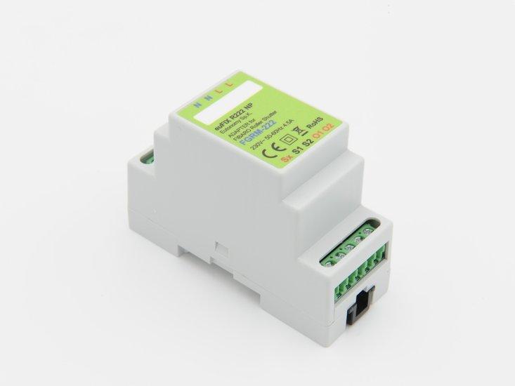 Adapter R222 NP voor DIN TH35-rail tbv Fibaro Rolluik-Module 2