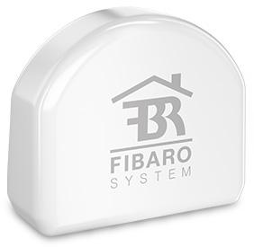 Fibaro Enkele Inbouwschakelaar-2 1x2,5 kW - Apple HomeKit
