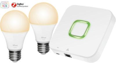 Zigbee Verlichtingsset: gateway + 2 lampen