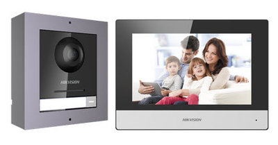 Hikvision Video intercom set IP-versie