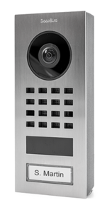 DoorBird D1101V IP Video Doorstation Opbouw