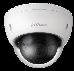 Dahua HDBW1230EP 1080p D/N IR Vandaal Dome 2.8mm lens
