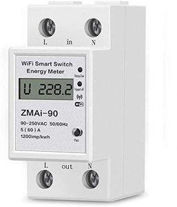 Slimme Wifi DIN rail Energiemeter