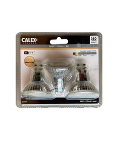 Calex SMD LED lamp GU10 5,5W 360lm 3-Pack