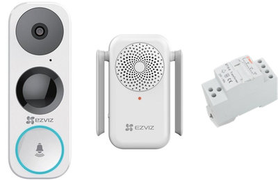 EZVIZ DB1 wifi video-deurbel + Chime