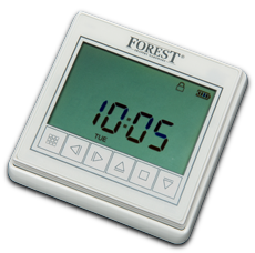 Forest Timer Draadloos Wit