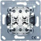 Jung Impulsdrukker inbouw 4-voudig aangepast voor LS990 serie