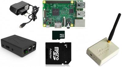Domoticz Starterset Rfxcom met Raspberry Pi 3B+