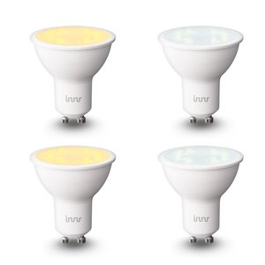 Innr dimbare GU10 LED-spot tunable white 4-pack