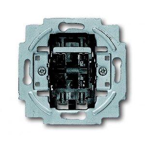 Busch-Jaeger Dubbele impulsdrukker met 2 maakcontacten