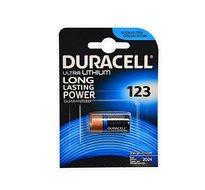 Duracell CR123A Ultra Lithium batterij 3V